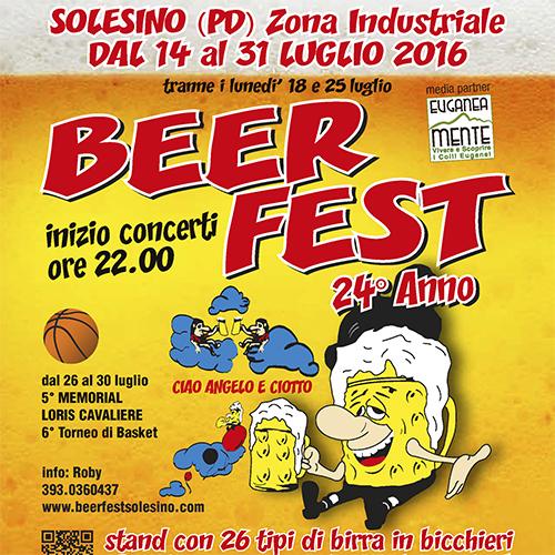 Beerfest Solesino COPERTINA libretto