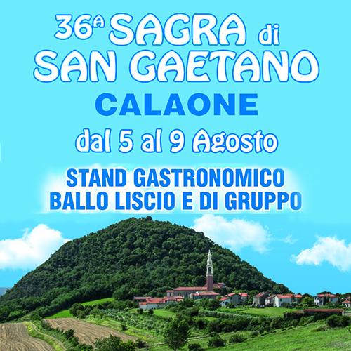Calaone Sagra San Gaetano 2016 - 70x100
