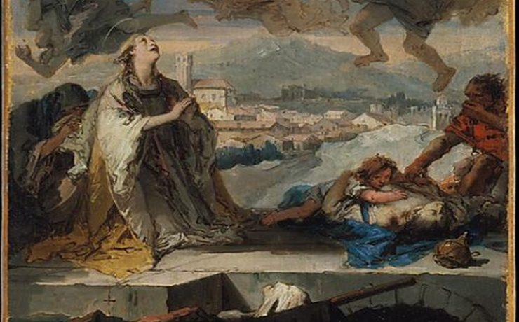 Tiepolo e i Colli Euganei