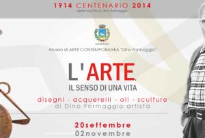 Dino Formaggio in mostra a Teolo: l'arte il senso di una vita