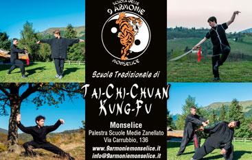 Scuola 9 Armonie Organizza Corsi di Kung-Fu e Tai-Chi-Chuan