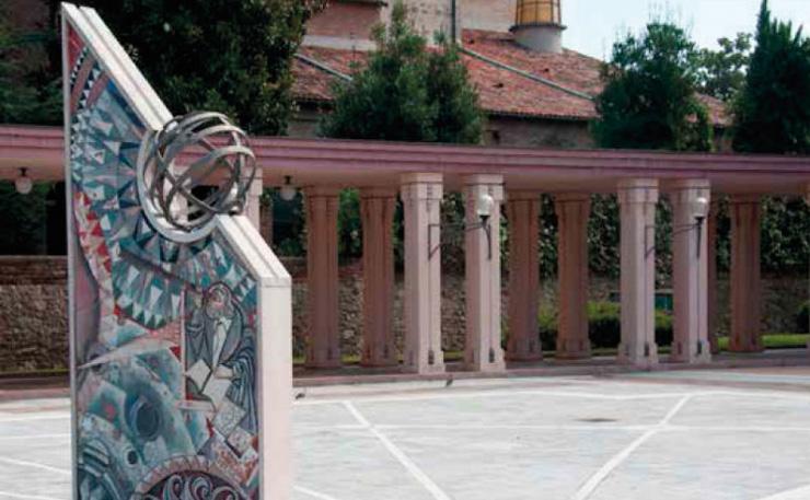 Meridiana: Orologio Solare di Abano Terme