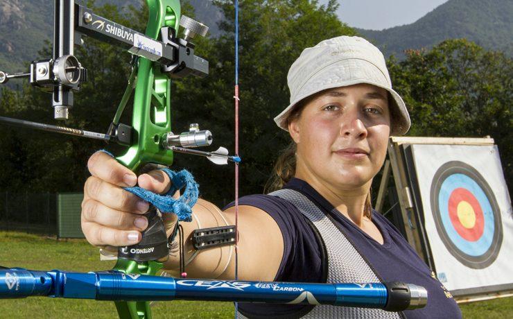 Gwen dagli Euganei a Rio, una guerriera con arco e frecce!
