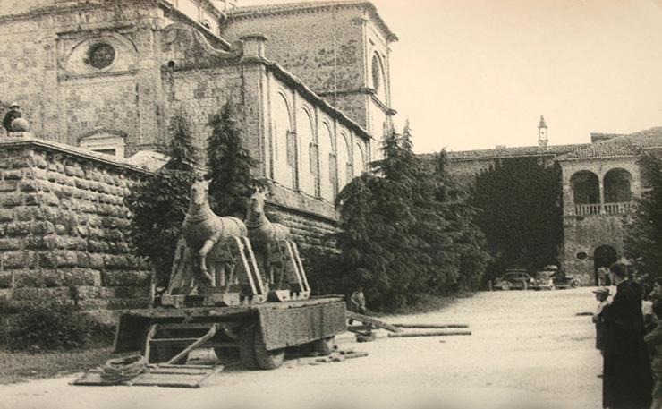 L'Abbazia di Praglia e Le Opere d'Arte Veneziane nella Seconda Guerra Mondiale