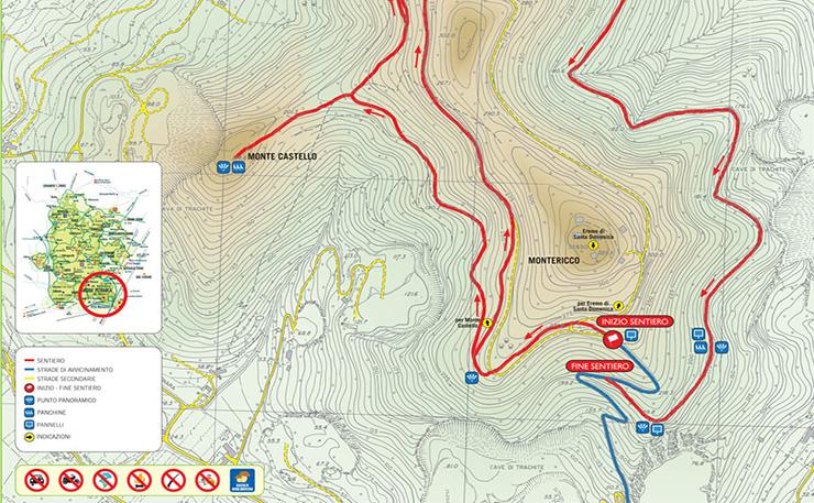 Sentiero n. 6 Monte Ricco