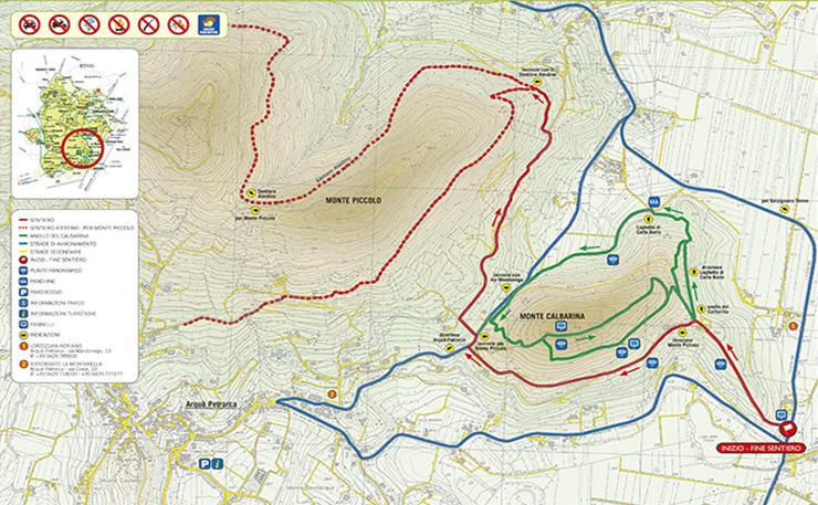 Sentiero n. 7 Monte Calbarina e Monte Piccolo