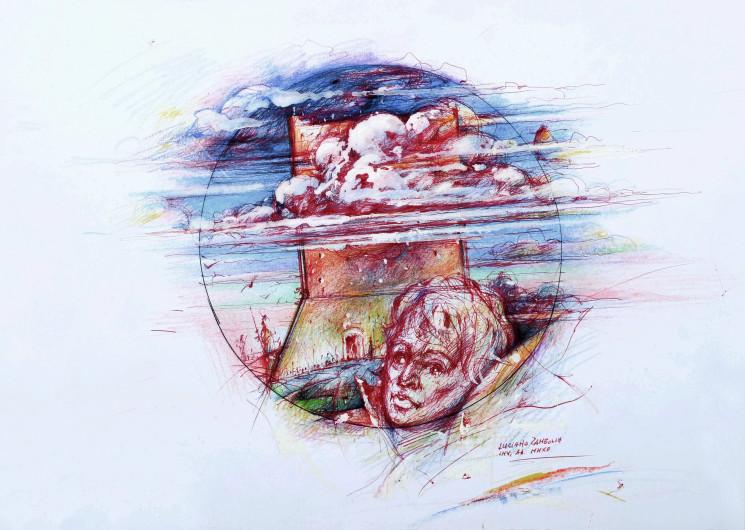 Cartoline D'Arte Euganee Autore Luciano Zambolin