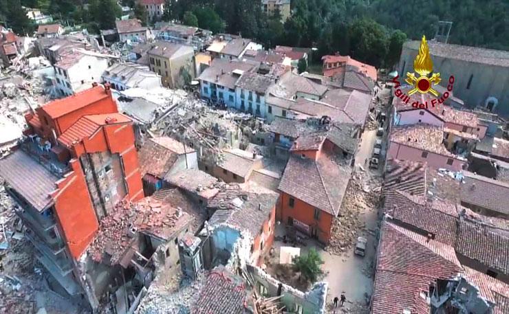 Terremoto in centro Italia, la testimonianza di un musicista di Este