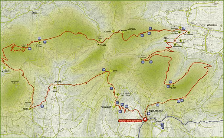 Progetto Adotta un Sentiero – Sentiero Atestino Numero 3