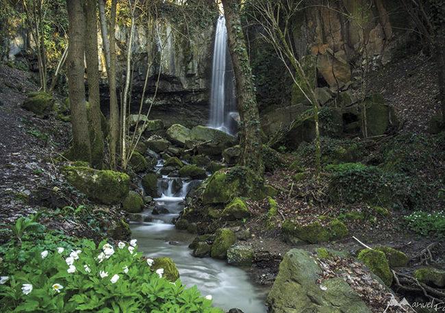 La Cascata di Schivanoia e il Rio Contea