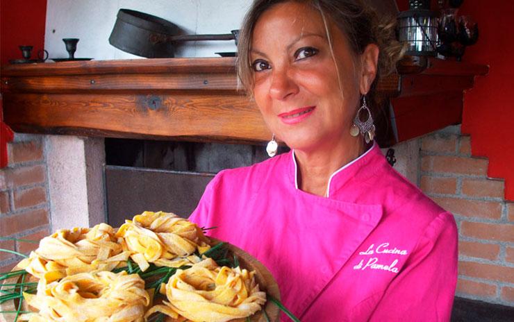 Corsi di cucina con pamela colli euganei