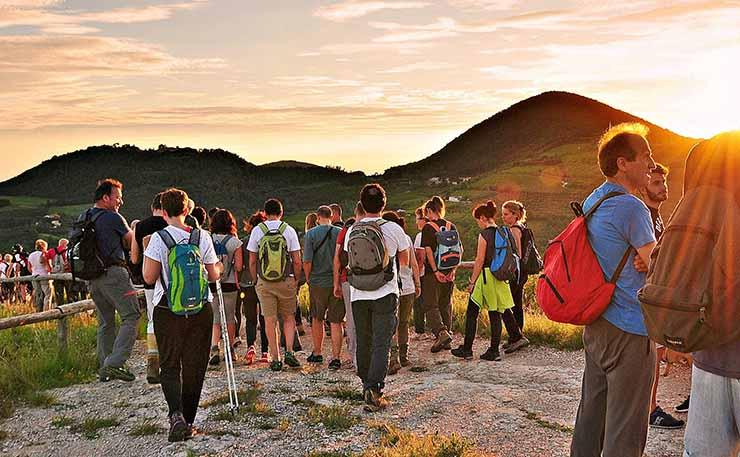 Trekking Euganeo calendario