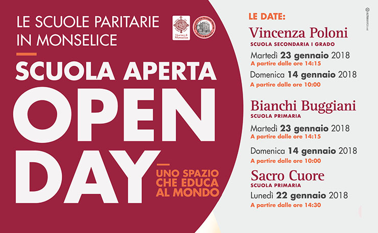 Open Day – Scuole Paritarie di Monselice
