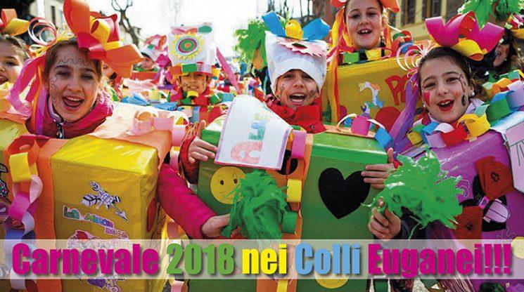 Evviva il Carnevale 2018 nei Colli Euganei!