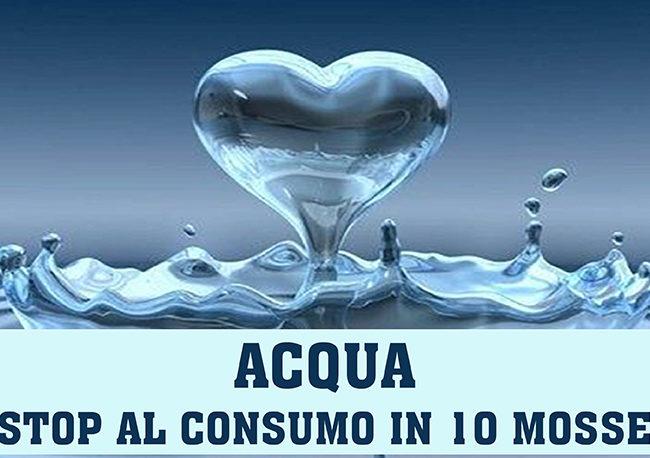 Come ridurre il consumo di acqua in 10 mosse!