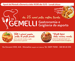 Dai Gemelli Gastronomia e Griglieria da Asporto