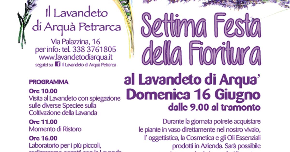 Calendario Cinema Petrarca.Festa Della Fioritura 2019 Ad Arqua Petrarca Colli Euganei